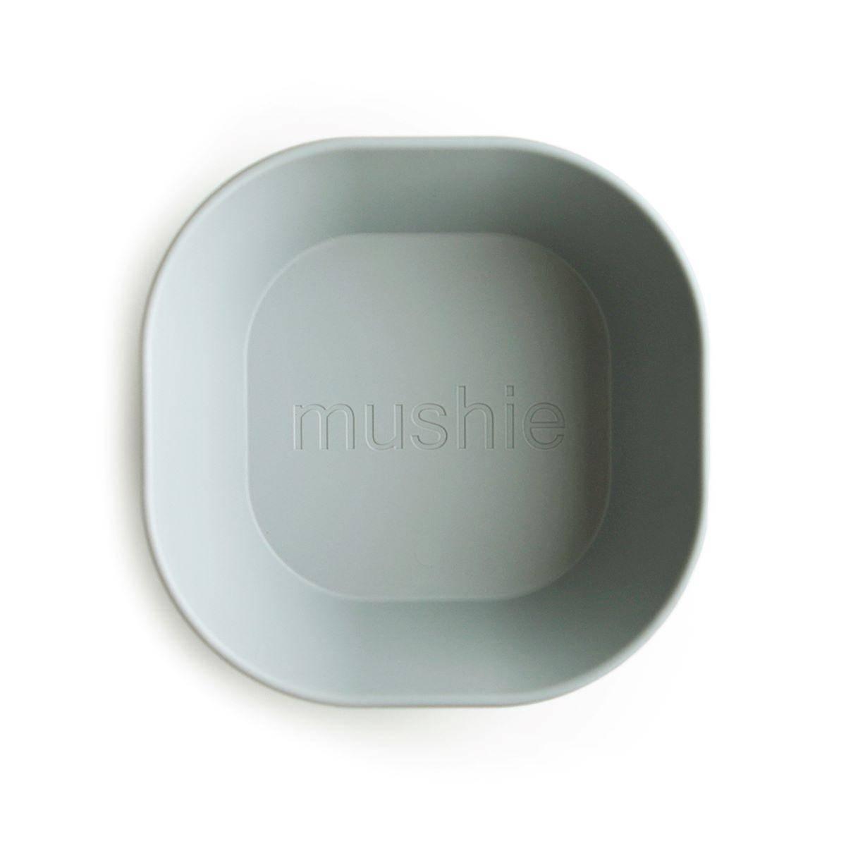 Skål 2pk - Mushie - Sage