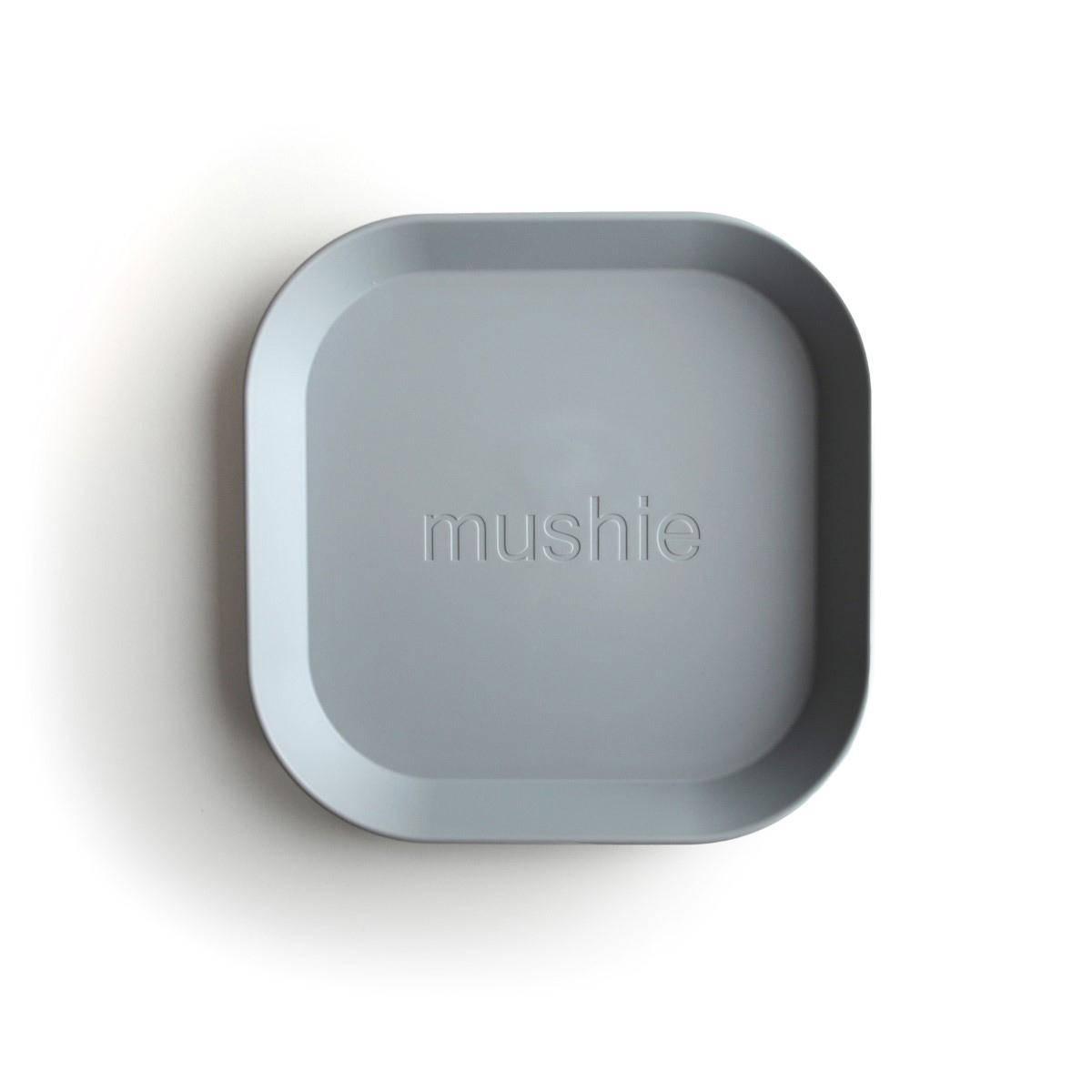 Tallerken 2pk - Mushie - Cloud